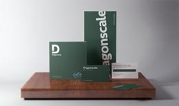 Dragonscale brand identity