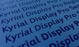 Kyrial Display Pro®